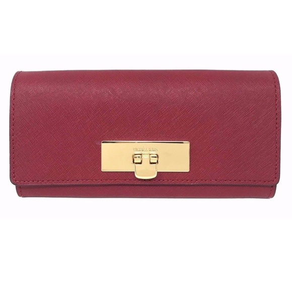 279d962514c0 Michael Kors Bags | Callie Carryall Cherry Womens Wallet | Poshmark